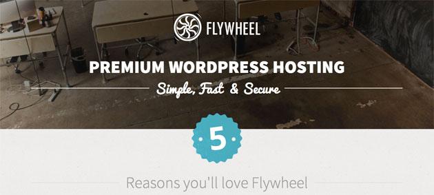 Flywheel Landing Page Design
