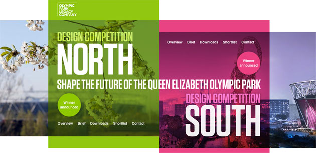 Queen Elizabeth Olympic Park Design Competition