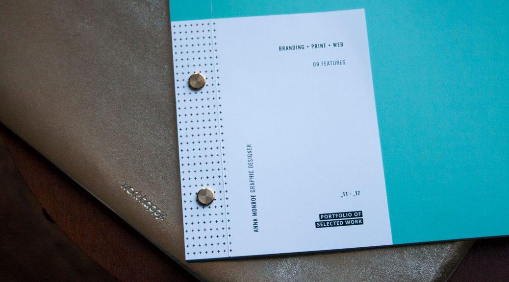 portfolio book rebrand