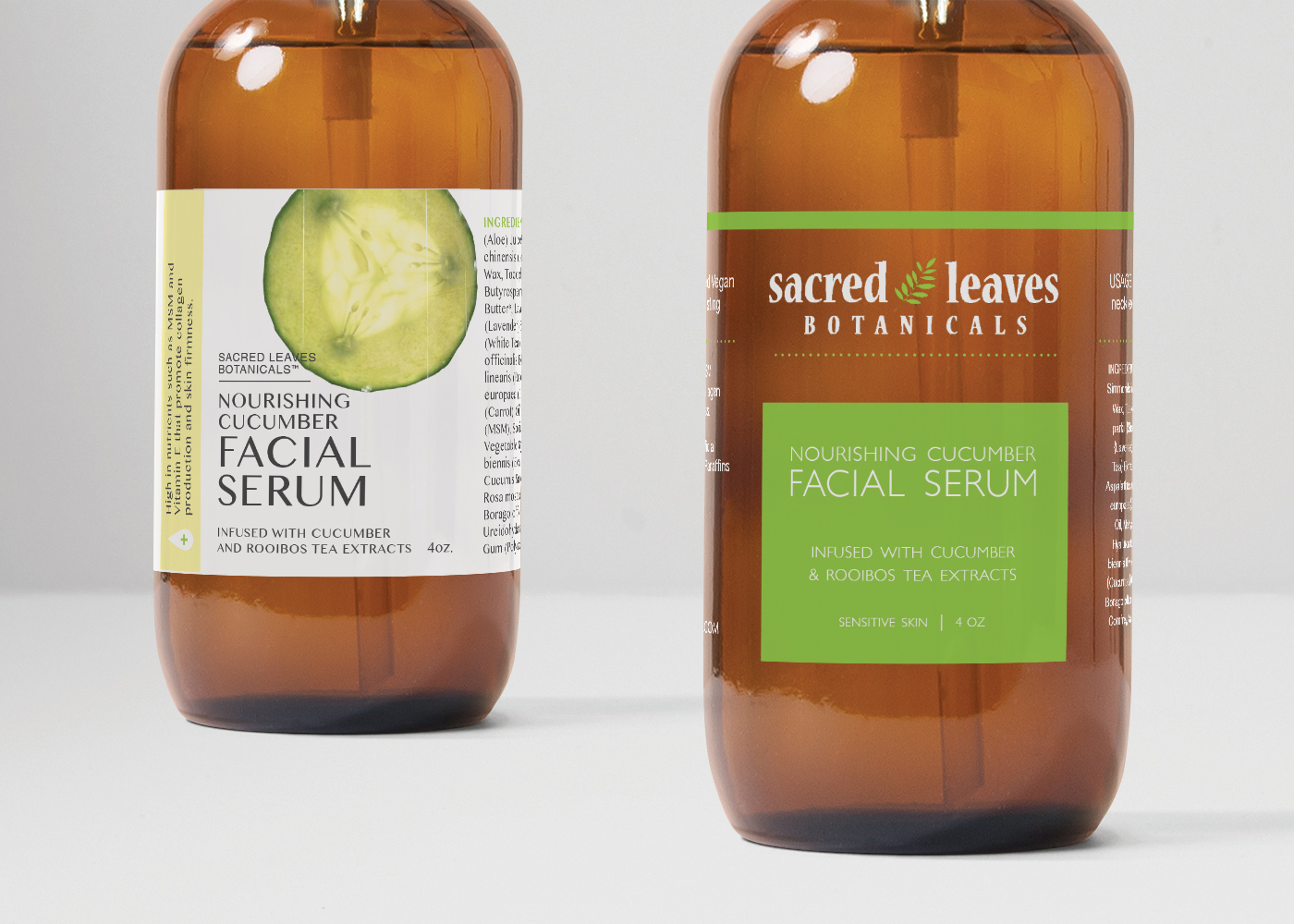 Sacred Leaves Botanicals Packaging