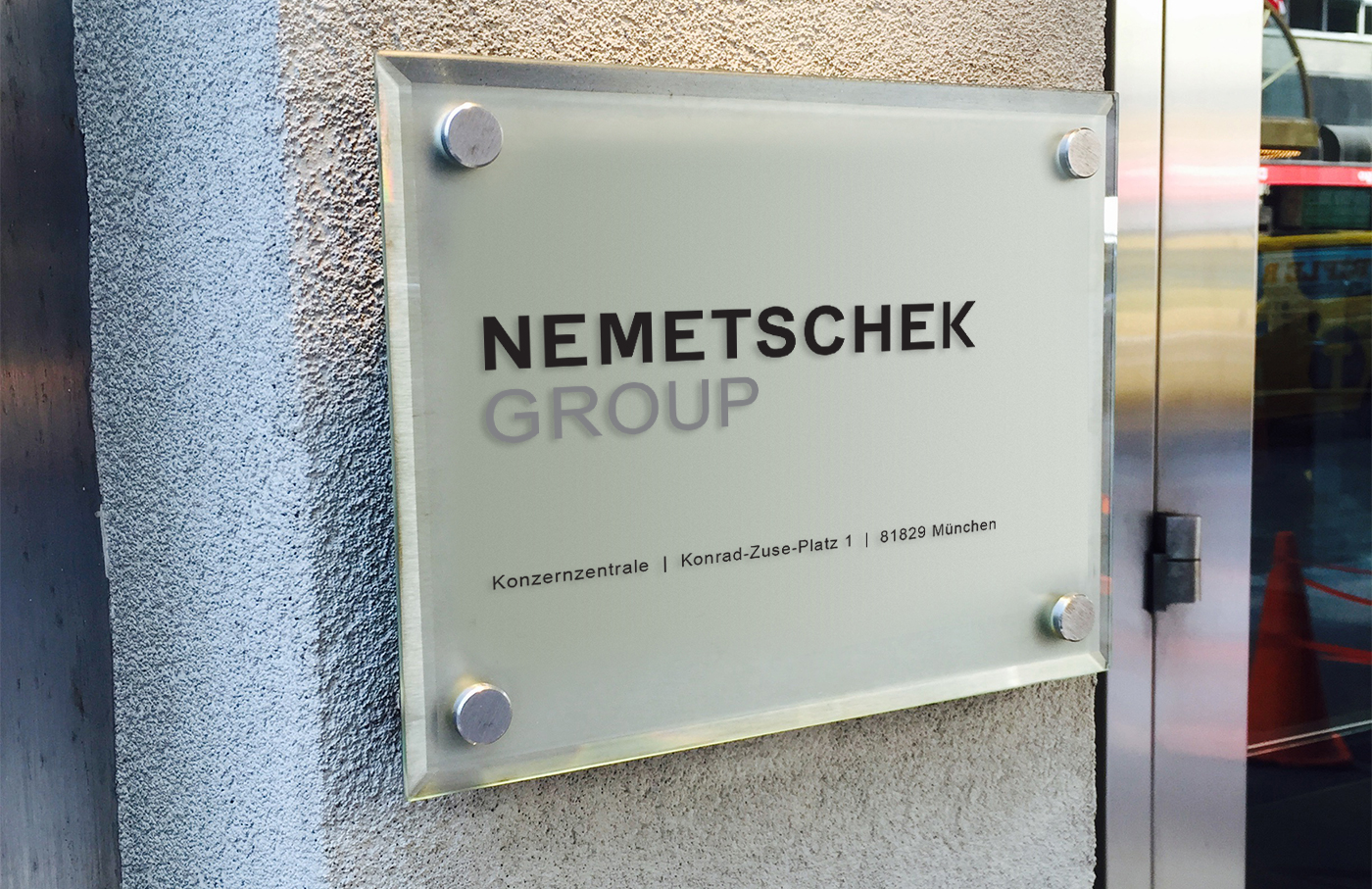 Nemetschek Group signage