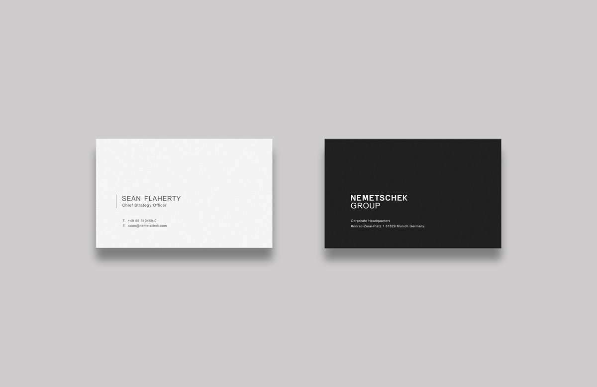 Nemetschek Group Business card